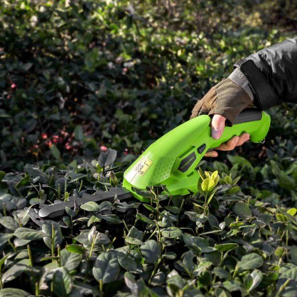 Tailleherbeelectriqueetrechargeable 8 min Taille Herbe Électrique Et Rechargeable: Tailler Avec Précision L'herbe Et Les Arbustes Dans Les Petits Espaces