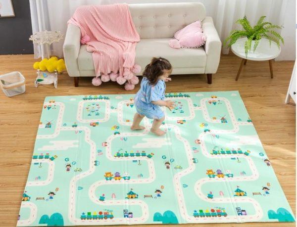 TapispliableTapisdejeupourenfants1 Tapis pliable - Tapis de jeu pour enfants