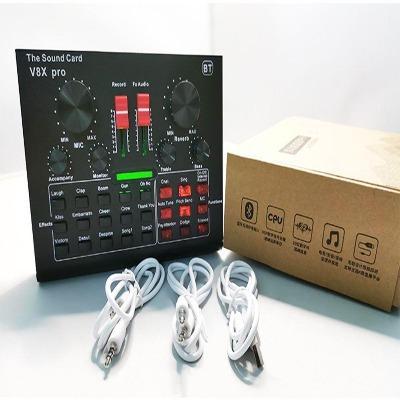 Carte Son V8X Pro: Qualité Sonore Au Niveau Des Studios