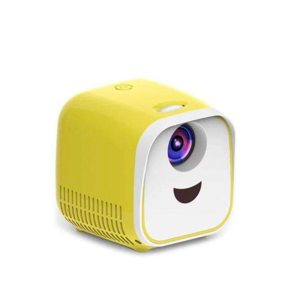 Vivibright L1 New Mini Projector WIFI USB Children Portable Projector 1000 Lumens Micro Video Projector Sans fil Mini Vidéoprojecteur Nouvelle Génération : Approprié Pour la Maison, La Fête, Les Enfants et le Bureau
