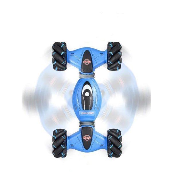 Geste, voiture télécommandée : Peut Faire Plusieurs Types De Cascades - Bleu / Type 2