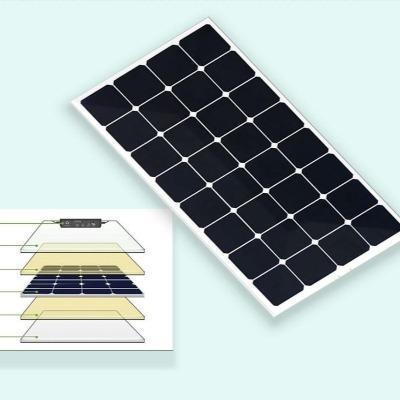 XINPUGUANG 100W 18V ou 16V flexible panneau solaire cellule 100 watts module monocristallin sunpower painel solaire 7d095ee1 db11 4080 9374 9c9045b4a5c8 Panneau Solaire Souple : Facile À Transporter et À Installer