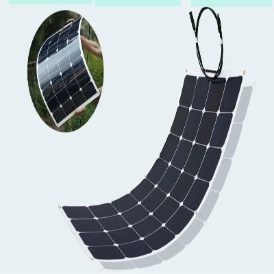 XINPUGUANG 100W 18V ou 16V flexible panneau solaire cellule 100 watts module monocristallin sunpower painel solaire edfecf32 ccbe 489d 8d70 e91531f98311 Panneau Solaire Souple : Facile À Transporter et À Installer
