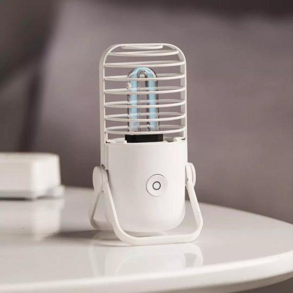 Lampe Stérilisatrice Portable : Technologie Scientifiquement Éprouvée Et Efficace - BLANCHE