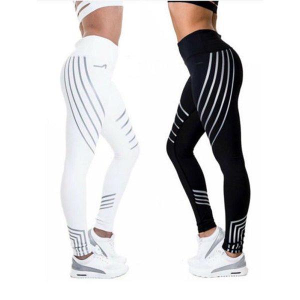 YogaPants2 Pantalons de Yoga : Leggings Réfléchissants pour Femmes