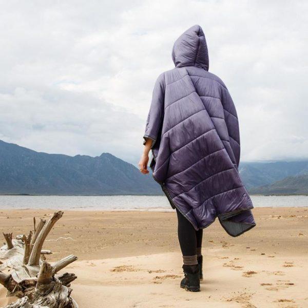 Sac De Couchage Portable: Complément Fiable À Votre Kit De Survie - Violet