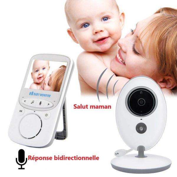 baby monitor wireless video nanny interc description 3 Moniteur Bébé Sans Fil : Fait Du Assurer Que Votre Bébé Est En Sécurité
