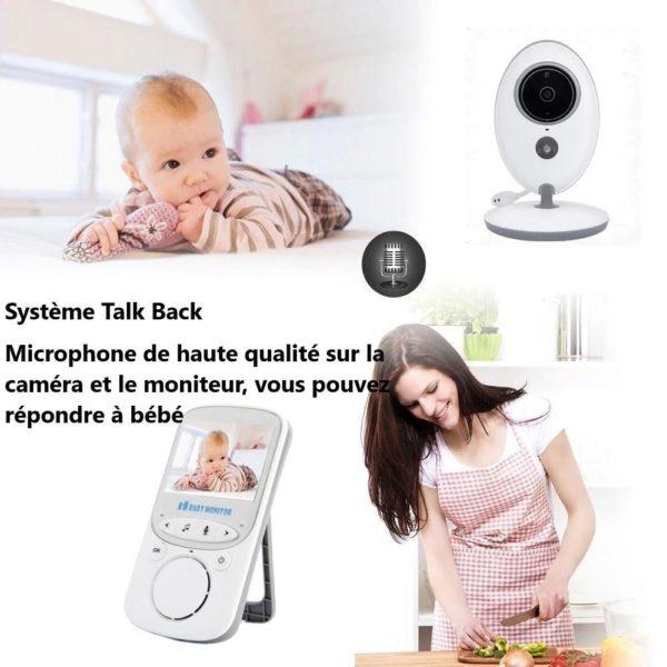 baby monitor wireless video nanny interc description 5 Moniteur Bébé Sans Fil : Fait Du Assurer Que Votre Bébé Est En Sécurité