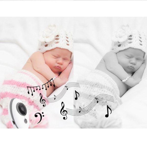 baby monitor wireless video nanny interc description 7 Moniteur Bébé Sans Fil : Fait Du Assurer Que Votre Bébé Est En Sécurité