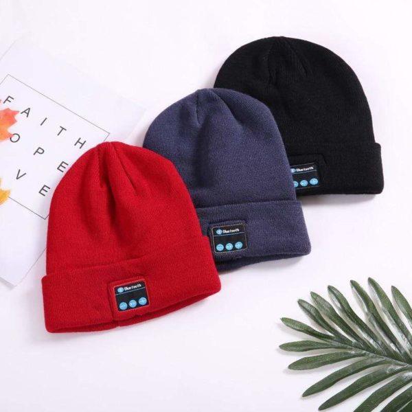 bc6 1 Bonnet D'hiver : Avec Haut-parleur Sans Fil Bluetooth