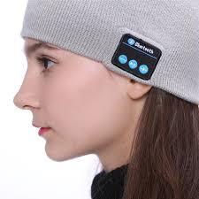 btc2 Bonnet D'hiver : Avec Haut-parleur Sans Fil Bluetooth