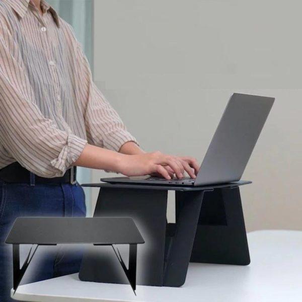 daf50a2a eaa4 4f09 9c0b 1a0d3bf553f8 Support D'ordinateur Portable Ultra Confortable : N'ayez Plus Jamais Mal au Cou ou au Dos