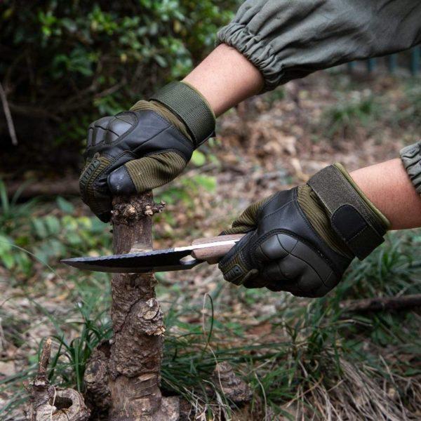Gants Tactiques Militaires: Donnez Plus De Protection À Vos Mains - Vert / S(18-22 CM)