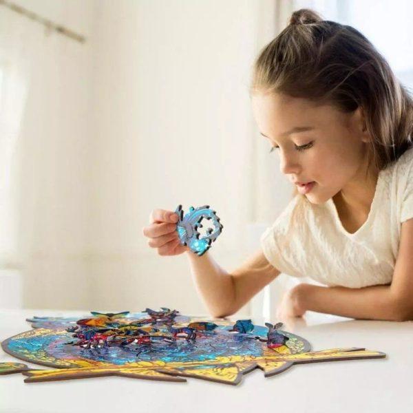 holz puzzles fur erwachsene einzigartige main 3 Puzzles D'animaux En Bois: Un Jeu Passionnant Qui Convient Aux Enfants Et Aux Adultes
