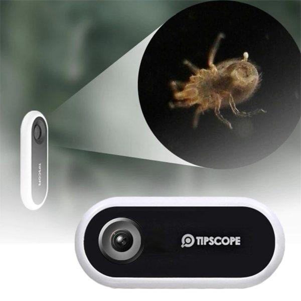 ini camera de microscope de telephone l description 8 Lentille De Caméra De Microscope: Vous Permet De Voir Les Choses En Détail