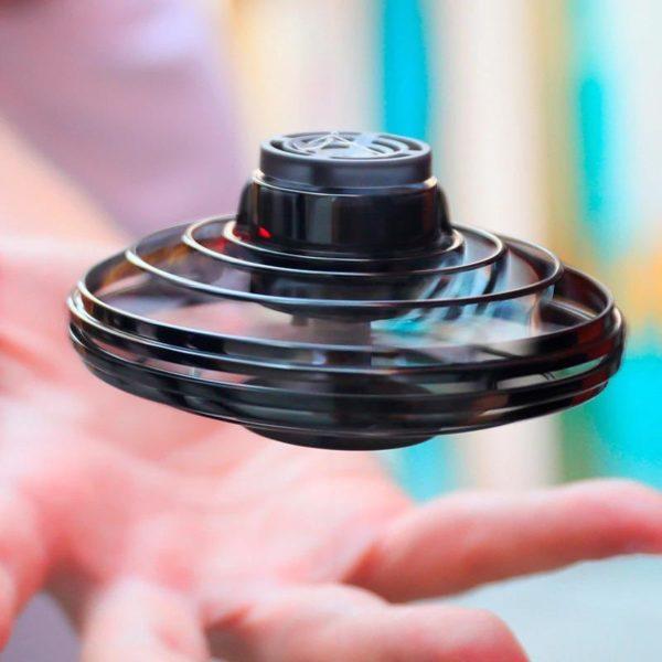 Jouet De Drone Fidget Spinner Pour Enfants Et Adultes: Remède Absolu Pour L'ennui - Noir