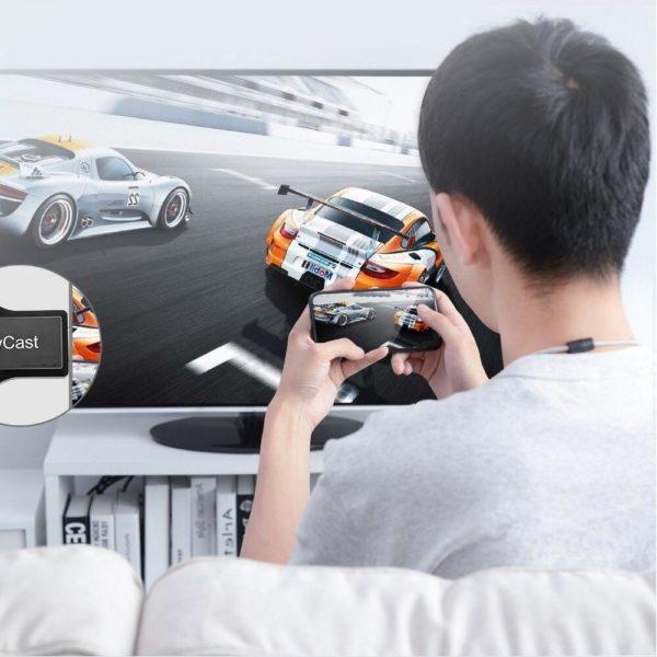 m 2 plus tv stick wifi display empfanger main 5 Adaptateur HDMI Sans Fil: Basculer Aux Grands Écrans Et Amusez-Vous