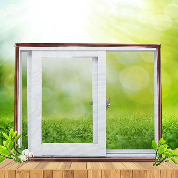 moustiquairefenetre 3 Moustiquaire Fenêtre: Fenêtre D'écran Invisible Moustiquaire Amovible Anti-moustique Peut Être Lavé