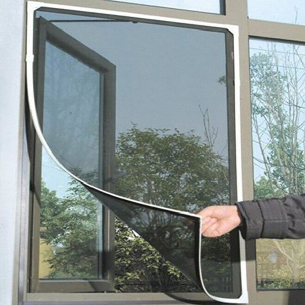 moustiquairefenetre 5 Moustiquaire Fenêtre: Fenêtre D'écran Invisible Moustiquaire Amovible Anti-moustique Peut Être Lavé