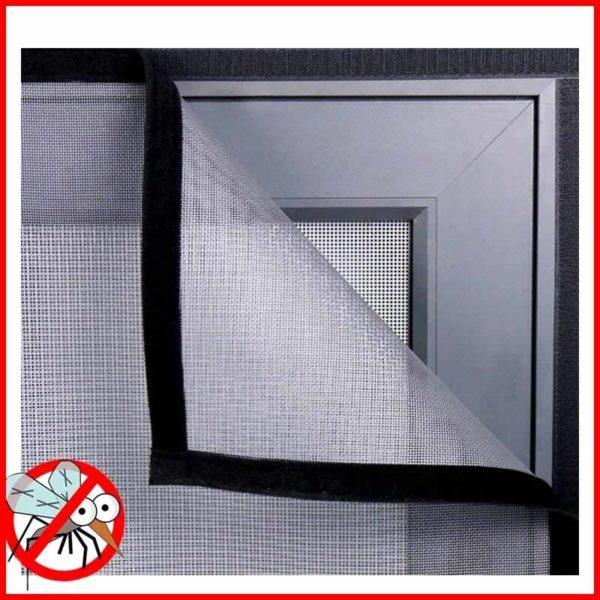 moustiquairefenetre 7 Moustiquaire Fenêtre: Fenêtre D'écran Invisible Moustiquaire Amovible Anti-moustique Peut Être Lavé