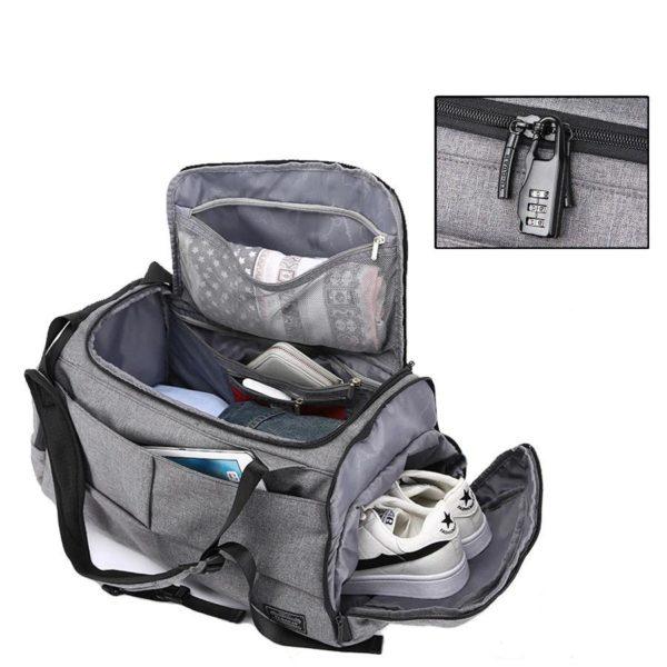 ommes sac de voyage etanche sport sac d main 1 Sac De Rangement De Voyage Multifonction: Rangez Tous Vos Accessoires De Voyage