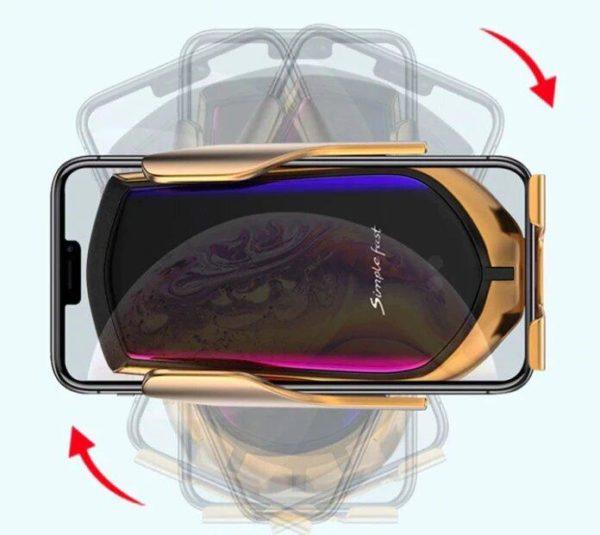 ph5 Support De Téléphone : Chargement Sans Fil avec Capteur Infrarouge