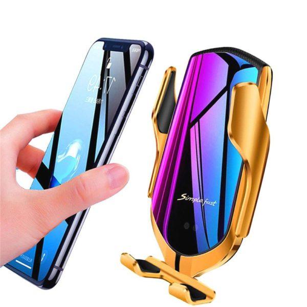ph9 Support De Téléphone : Chargement Sans Fil avec Capteur Infrarouge