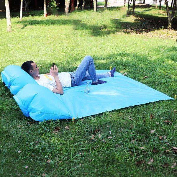 picnic airbag 19 Tapis de Pique-nique : Coussins D'air Gonflables et Imperméables
