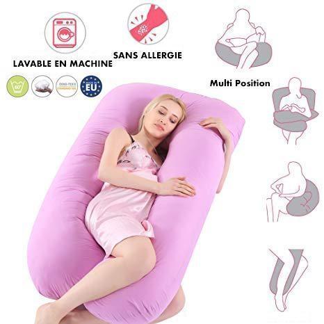 pink large 299b4afa 939a 4122 b515 2e640051bed8 Oreiller D'allaitement et de Grossesse : Idéal Pour Lire, Allaiter et Regarder la Télévision