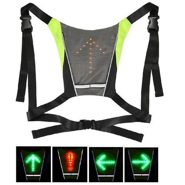 product image 884463374 800x 1604a8f2 db35 4b08 a343 e22649eb7642 Sécurité Gilet de Cyclisme à LED : Rechargeable par USB