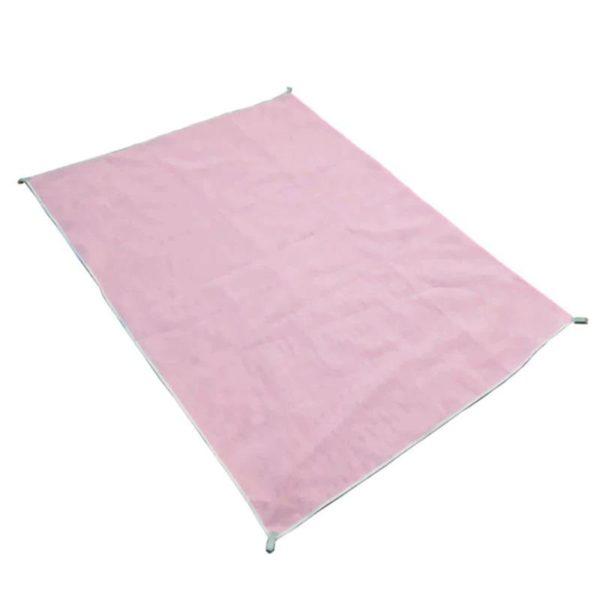 Sable-gratuit Plage Tapis: Extrêmement Durable, Ultra-léger Et Peut Se Plier En Une Petite Forme - 150cmx200cm / Rose