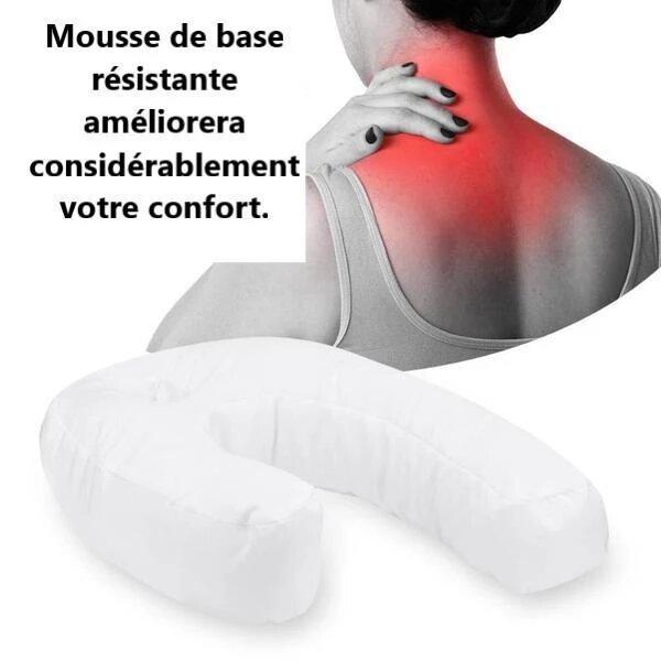 up2 Oreiller En Forme De U : Protection Du Cou et De La Colonne Vertébrale
