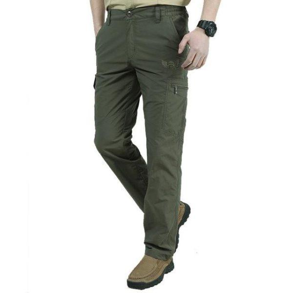 Pantalon Tactique D'extérieur: Un Outil Sur Lequel Vous Pouvez Compter Pour Vos Aventures - Vert / M(80-86 cm)
