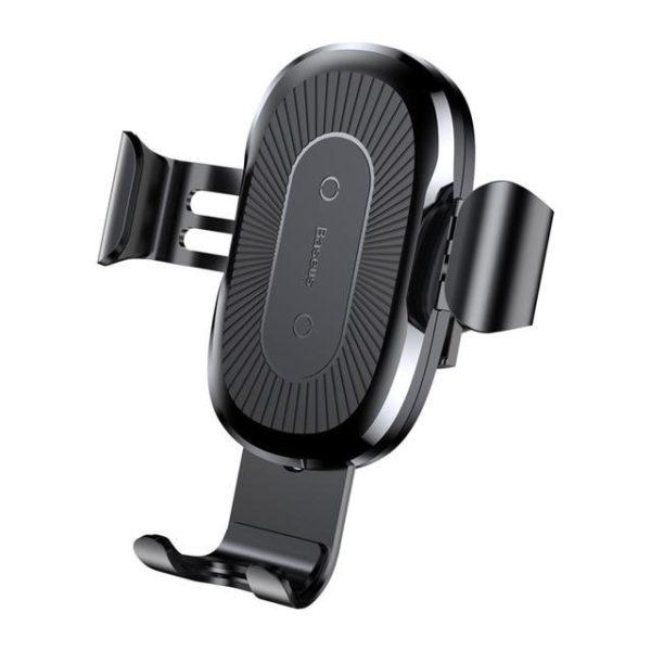 v Black 531932588 Support De Voiture Avec Chargeur Qi Sans Fil : Gardez Votre Téléphone Fermement