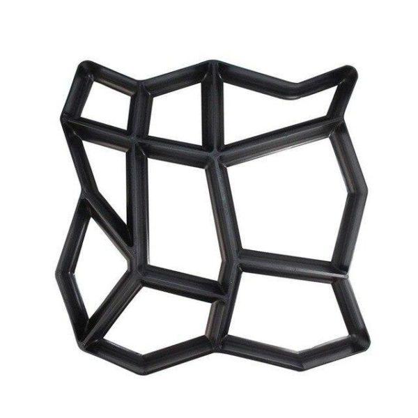 v Black 2111337961 Moule Pour Pavage de Jardin : Retiennent le Coulis de Ciment