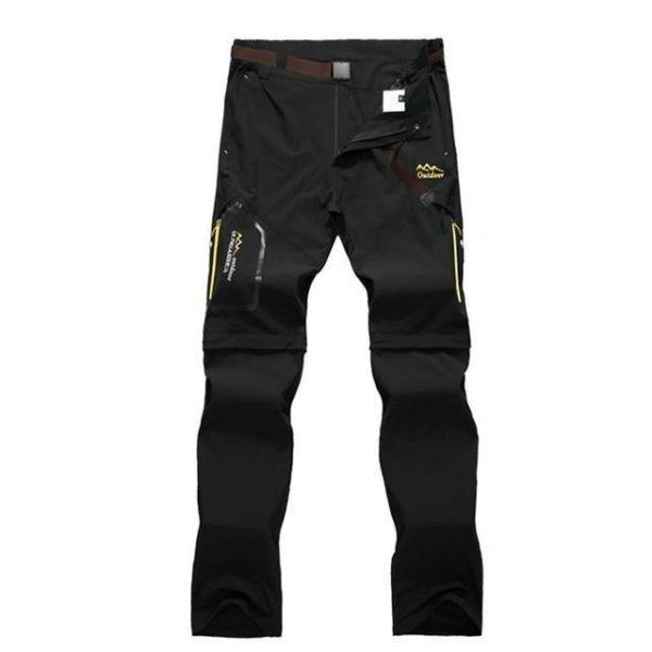 Pantalons De Randonnée En Plein Air: Vous Permet Une Grande Liberté De Mouvement - Noir / L(68-82 cm)