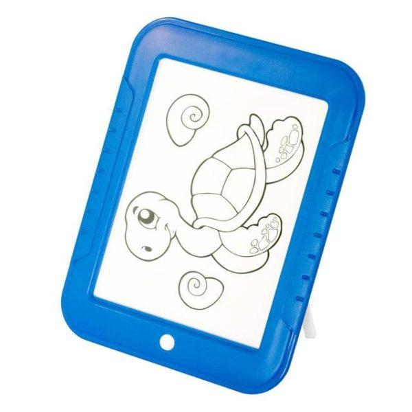v Bleu 1410593272 Tablette à Dessin LED Éducatif Pour Enfants