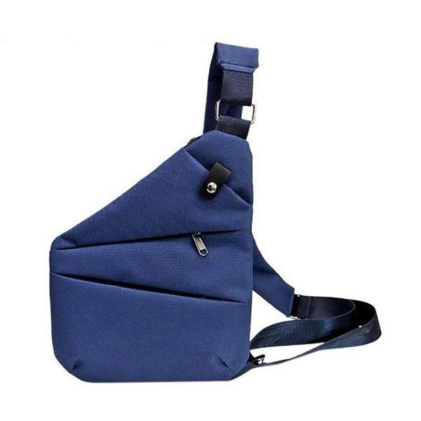 Smart Bag : Sac Anti-Vol Avec Technologie Avancée RFID - Bleu
