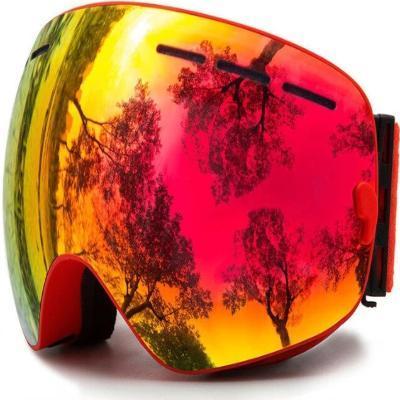 Masque De Ski : La Meilleure Protection Pour Vos Yeux Contre L'eblouissement - Rouge