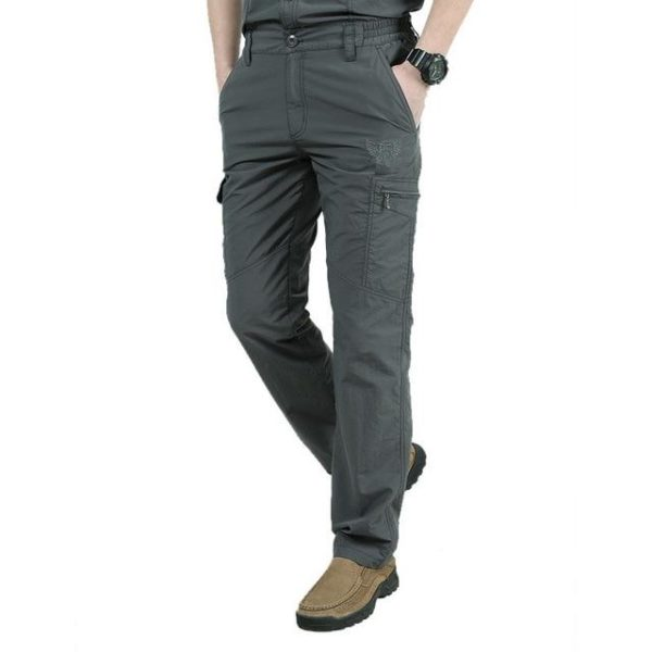 Pantalon Tactique D'extérieur: Un Outil Sur Lequel Vous Pouvez Compter Pour Vos Aventures - Gris / M(80-86 cm)