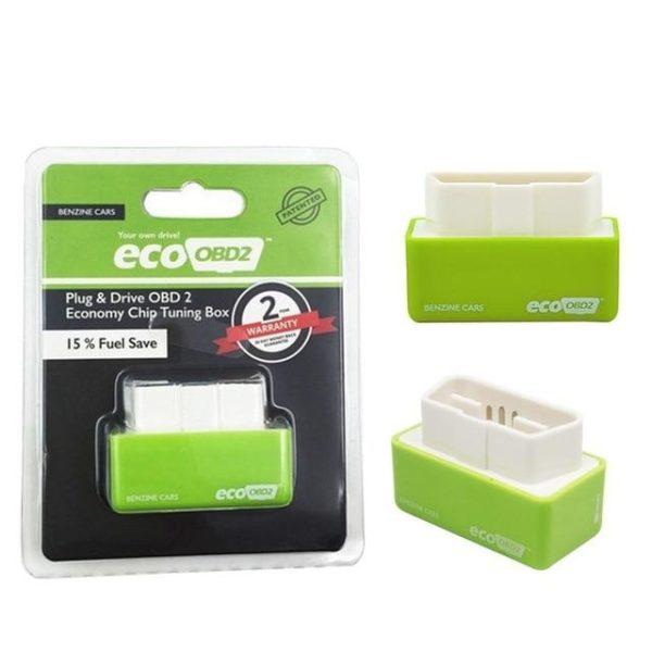 v Green Gasoline 1383741459 Eco Obd2 ™ – Economiseur de carburant pour Voitures Diesel et Essence