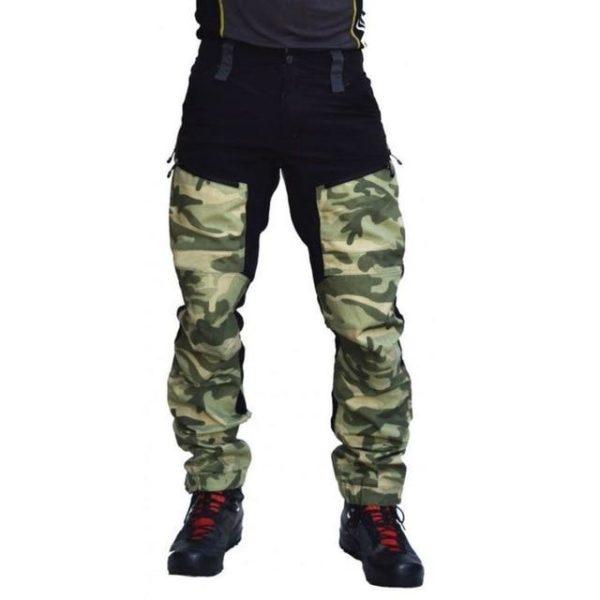 v Green 1660679981 Pantalon Casual Camouflage: Respirant Et Confort Incroyable