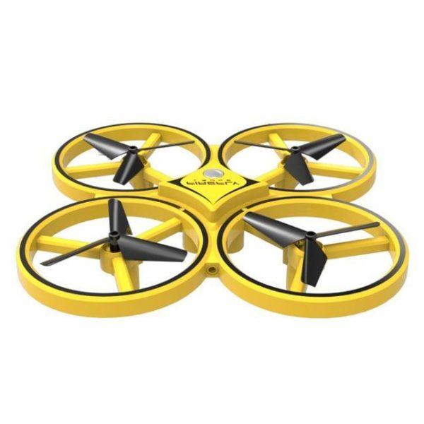 v Jaune 449046839 Drone De Contrôle Des Gesture Par Gravité : Contrôlable Avec La Main