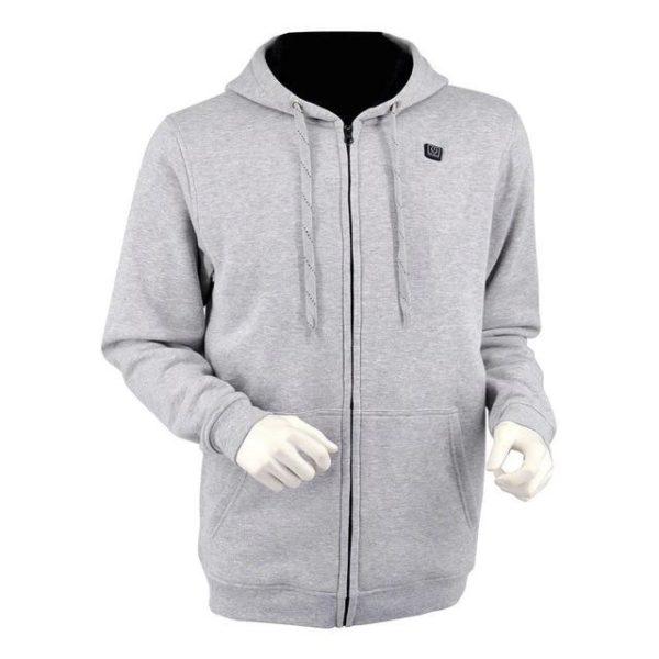 v Light Grey 1525037144 Sweat À Capuche Sport Chauffant : Gardez Votre Corps au Chaud et Confortable