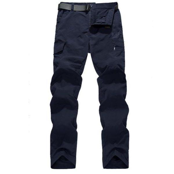 Pantalon Tactique D'extérieur: Un Outil Sur Lequel Vous Pouvez Compter Pour Vos Aventures - Bleu / M(80-86 cm)