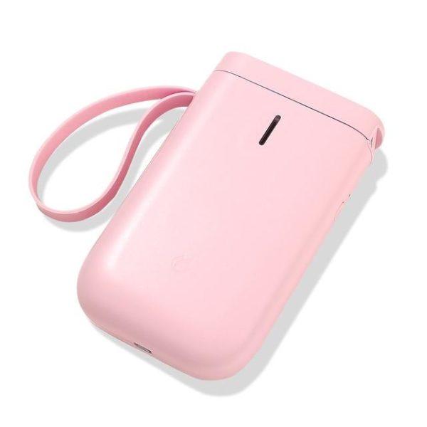 Imprimante D'étiquette Thermique Et Bluetooth: Etiquettez Et Organisez Votre Quotidien - Rose / Pas De Papier Rouleau