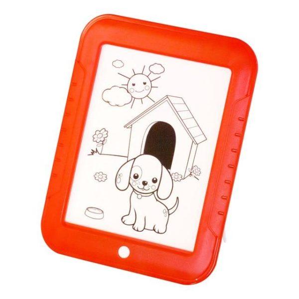 v Rouge 871248960 Tablette à Dessin LED Éducatif Pour Enfants