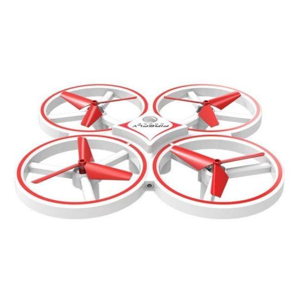 Drone De Contrôle Des Gesture Par Gravité : Contrôlable Avec La Main - Blanc