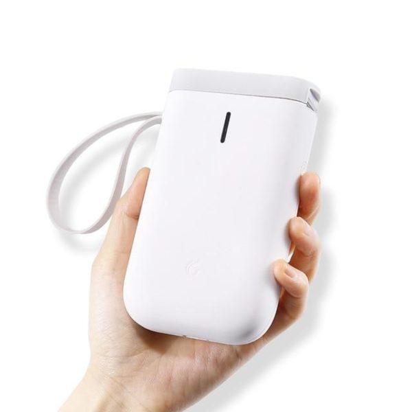 Imprimante D'étiquette Thermique Et Bluetooth: Etiquettez Et Organisez Votre Quotidien - Blanche / Pas De Papier Rouleau