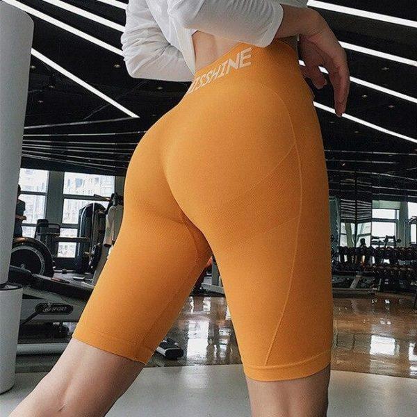 v Yellow 1156042882 Shorts De Sport Pour Femmes: Idéal Pour Toutes Les Activités Sportives